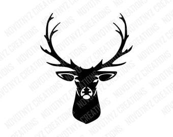 Deer Head SVG, Deer SVG, Hunting SVG