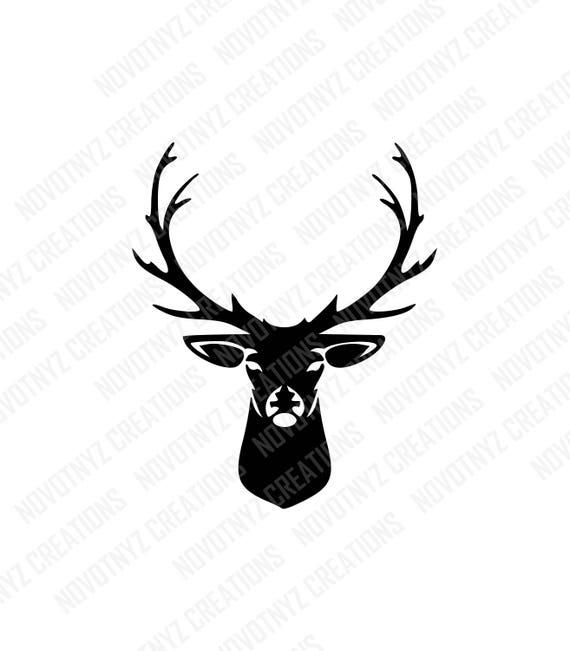 Deer Head Svg Deer Svg Hunting Svg