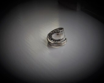 Vintage Spoon Ring Wrap