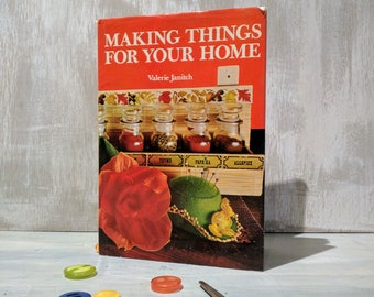 Vintage Craft Book from 1973 'Making Things For Your Home' by Valerie Janitch
