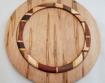 Ambrosia Maple Wood Plate