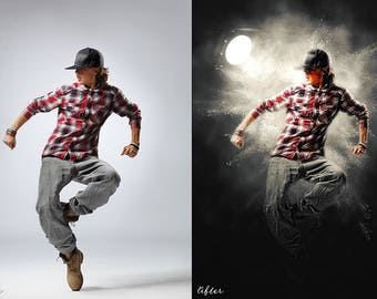 Light Effect - Photoshop Action