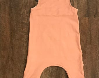 Baby girl harem romper with shoulder ties/baby clothing/ baby gift/baby girl clothes