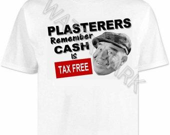 Plasterers T shirt . shirts .. plastering . builders . tools