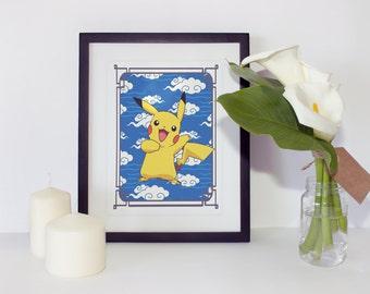 Pokémon Pikachu Print