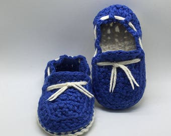 Crochet baby booties, Baby Loafer
