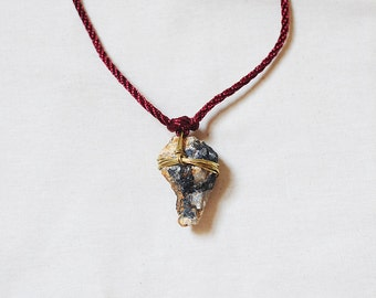 Handmade Found Rock Necklace