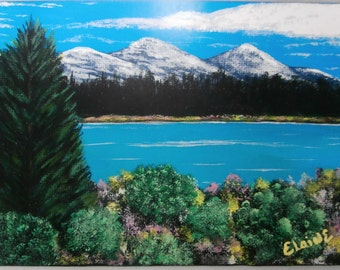 Mountain Painting PRINT