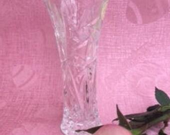 "Vintage Lenox Lead Crystal Vase, Lenox Star Vase, 6"" Vase, Vases, Bud Vase, Gifts for Her, Birthday Gift, Gifts for Grandma, Vintage Vases"