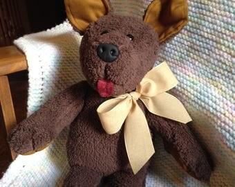Plush Dog Baby Gift Baby Shower Gift Child's Toy Puppy