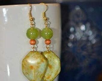9th pair of Lorraine's Earrings in the Summer Series