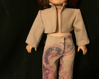 American girl doll suit
