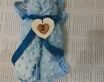 Blue Bear Blanket Gift