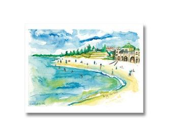 Cottesloe – Watercolour – print