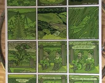 Green Verses Poster