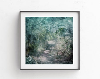 Room decor boho Wall decor Living room Enchanted Forest Fairy house picture Our first apartment Instant dwonload House warming gift 10x10