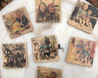 Personalized tile coaster