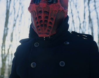 Mask Red Skull Cosplay Mask Helloween masks festival Mask