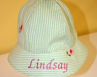 Custom Embroidered Sun Hat