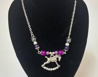Rocking Horse Necklace