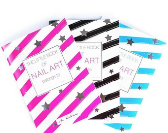 The Little Book of Nail Art - Set of 3