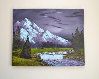 Artic Beauty - Original Landscape Oil Painting