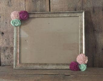 """11"""" x 14"""" Sola wood flower picture frame, gallery wall"""