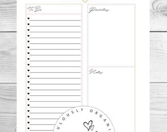 Fabulously Organised To Do List