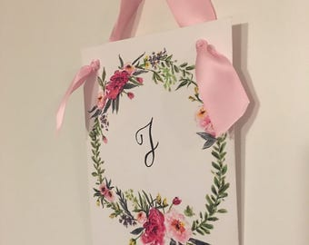 Monogram Door Hang