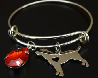 Labrador Retriever Bracelet, Labrador Bangle, Labrador Charm, Labrador Pendant, Labrador Jewelry, Labrador Memorial, Labrador Dog, Dog Charm