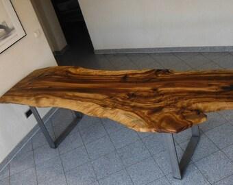 Golden cherry tree table