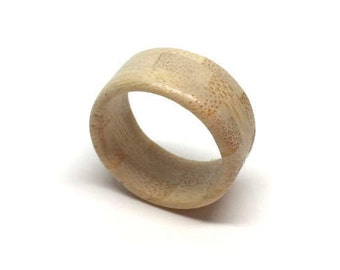 Wooden ring - bamboo