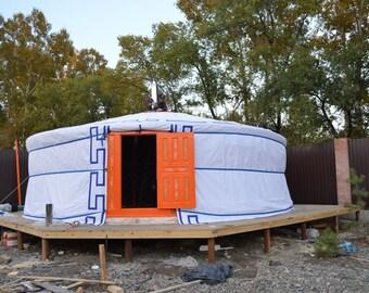 Mongolian Yurt pjatistennaja