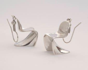 Earrings Chair Panton