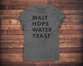 Craft Beer Shirt // Beer Shirt // Craft Beer Gift // Homebrewer T-shirt // Beer Geek Shirt // Brewer Shirt