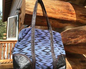 Overnight bag, Pendleton Wool,