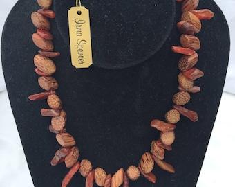 Natural Fiber Necklace