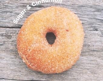 Sugar & Cinnamon Vegan Donut