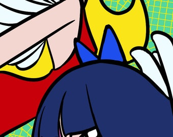 Panty and Stocking Bookmark