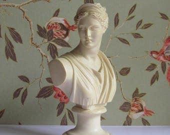 Alabaster Artemis bust