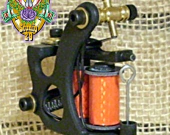 Hand Built Blackwidow Tattoo Machine Liner 6 layer1.25 Tattoo coils walker style