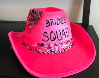 Custom Cowboy Hat for birthday/bachelorette/party