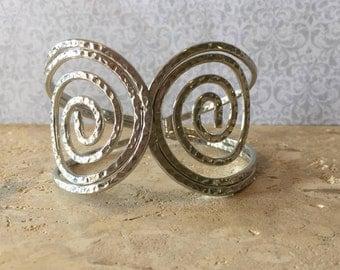Swirl Cuff Bracelet