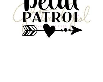 Petal patrol svg, Bridal svg, Flower girl svg, Digital cut file, SVG File, Bridal shower svg, SVG cut file, Flower girl