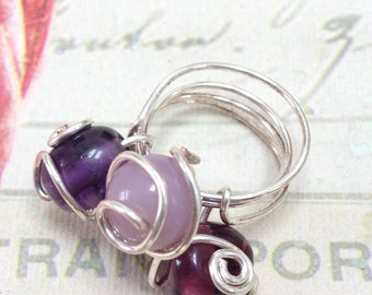Purple Rain Ring