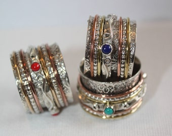 Mediation Ring, Worry Ring, Spin Ring