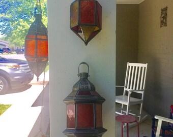 Set of 3 Moroccan Decorative Lanterns