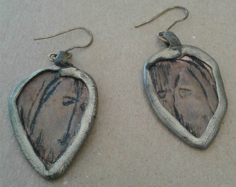 Hand Made Copper Earings