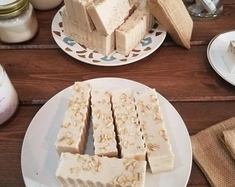 Honey Oat Goat Milk Soap