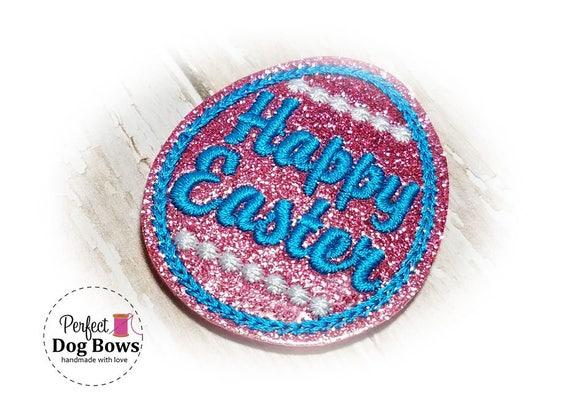 Easter Dog Bow, Topknot Bow, Easter Egg Dog Hair Bow